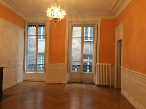 rénovation de salon d'appartement à lyon